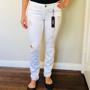 NWOT White distressed jeans from Express
